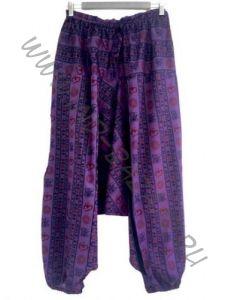 Фиолетовые штаны алладины с ОМ (Москва)
