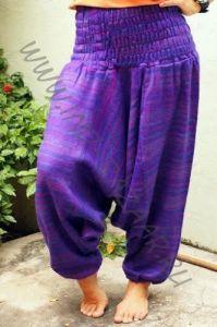 Зимние тёплые штаны алладины (фиолетовые)