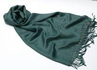 Сине зеленый палантин / шарф цвета морской волны с эффектом Хамелеон. Интернет магазин, Москва