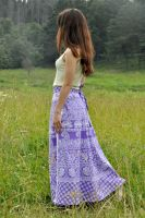 Длинная юбка с запахом, интернет-магазин Инд Базар (фото для примера)