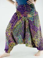 Разноцветные женские штаны афгани из хлопка, 750 руб. Интернет магазин