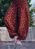 Индийские штаны алладины с турецкими огурцами, купить оптом
