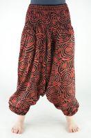 Индийские хлопковые штаны алладины оптом
